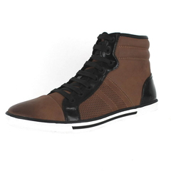 Kenneth Cole New York Base Down Low Hi-Top Sneakers