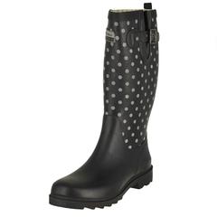 Chooka Flash Dot Tall Rain Boots