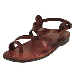 Jerusalem Sandals The Good Shepherd Buckle Ankle Strap