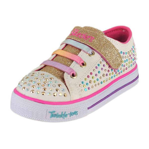 Skechers Shuffles-Twirly Tots Light-Up Sneaker