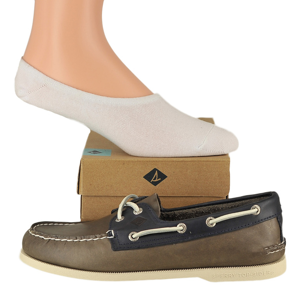 Sperry A/O Sarape & No-Show Sock Boat Shoes