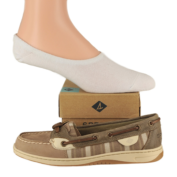 Sperry Sandfish & No Show Sock Boat Shoes
