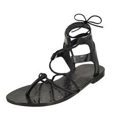 Zaxy Nuar Glass Sandal 17243 Ankle Strap