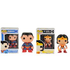 Funko Superman & Wonder Women Action Figure