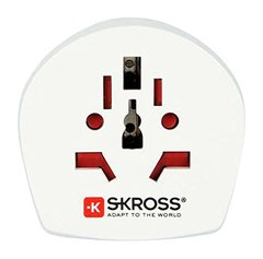 Skross Country World To Uk Adapter 2 & 3 Pole