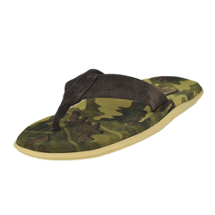 Island Slipper Camouflage Suede Thong
