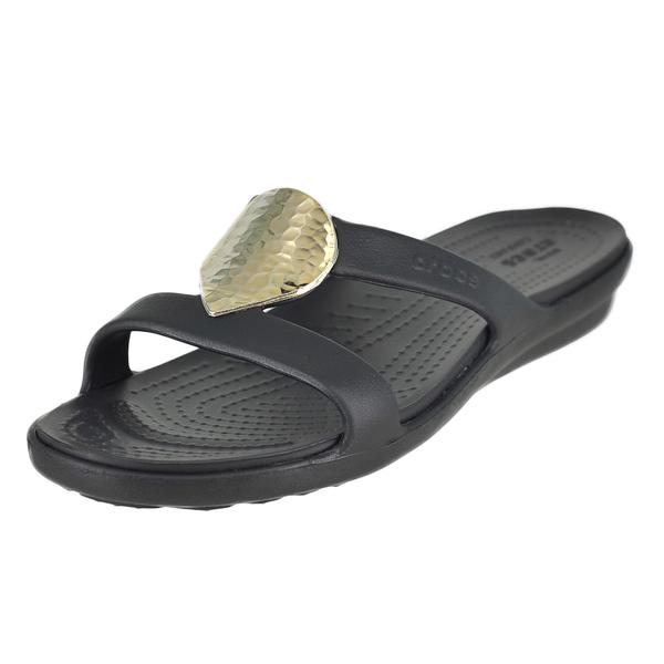 Crocs Sanrah Embellished Sandal W Slide