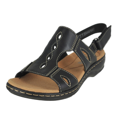 Clarks Leisa Lakelyn Ankle Hook And Loop Strap