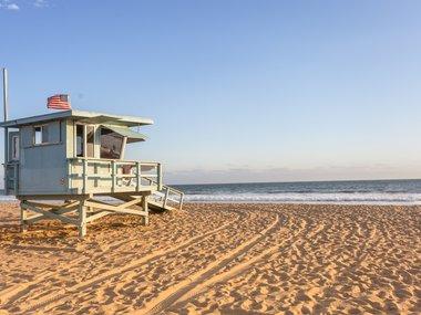 Santa Monica Beach Los Angeles