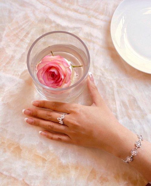 the 5th c diamonds ring
