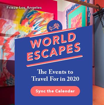 Events calendar 2020