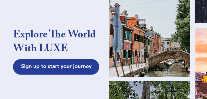 Explore the World with LUXE 2020
