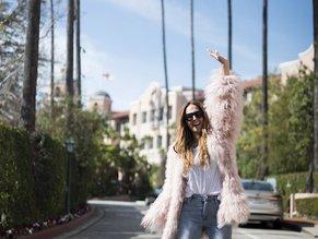 Tash Sefton in LA