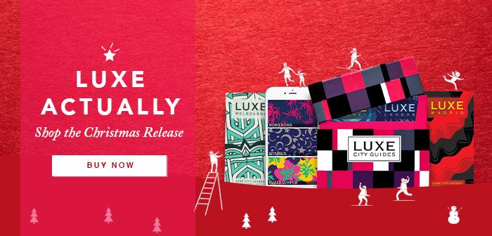 LUXE Actually! Shop the LUXE Christmas release
