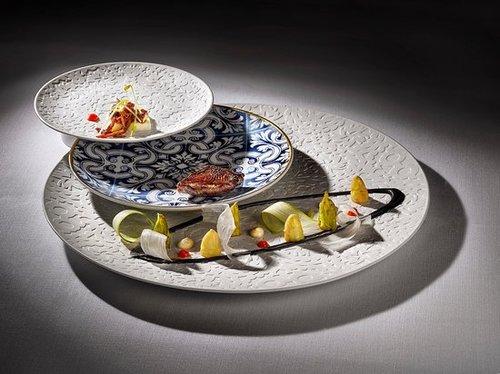 Asparagus dish Madrid