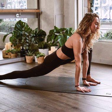 Woman Yoga Home