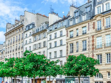 Le marais Paris neighbourhood