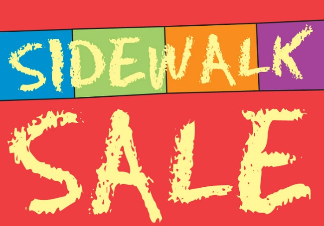 Image result for Sidewalk Sale Days