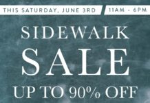 The Denim Lounge Summer Sidewalk Sale