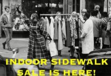 Only She Indoor Sidewalk Sale