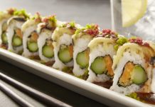 RA Sushi Vegetable Tempura Roll