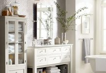 Classic Single Wide Sink Console - available at Pottery Barn