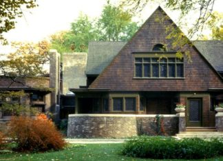Frank Lloyd Wright Home Tour