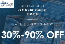 Denim Sale at The Denim Lounge Chicago