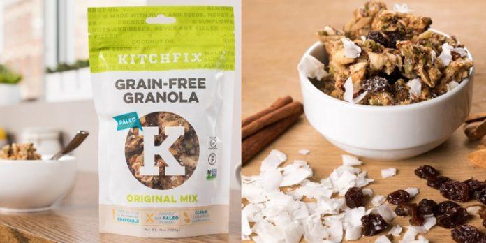 Grain-Free Granola by Kitchfix