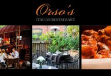 Orso's Restaurant - Italian in Old Town Chicago