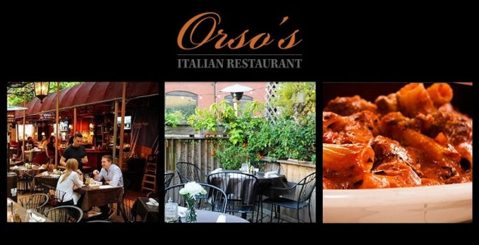 Orso's Daily Specials