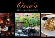 Sunday Brunch at Orso's Restaurant - Old Town