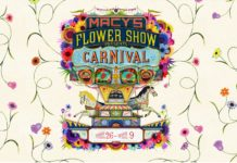 Macy's Flower Show Carnival State Street Chicago