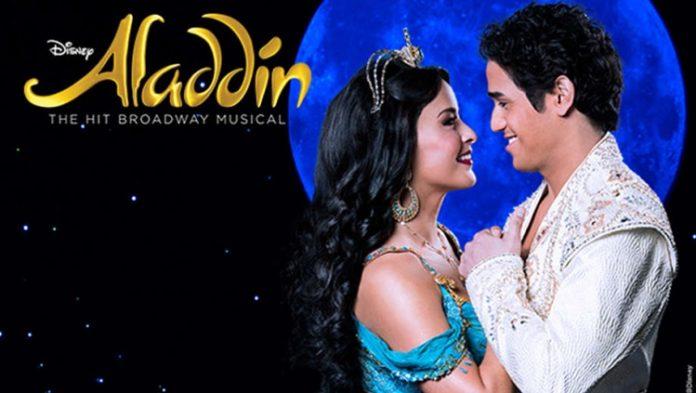 Aladdin at the Oriental Theatre