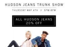 Hudson Jeans Trunk Show