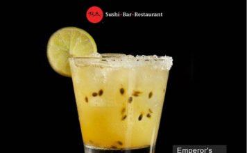 Emperor's Passion Fruit Margarita