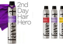 Fave4 Texture Takeover Hairspray