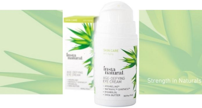 InstaNatural's Age-Defying Eye Cream