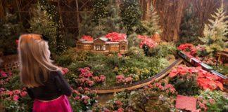 Wonderland Express at the Chicago Botanic Garden
