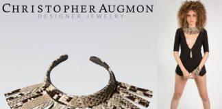 Python Choker and Wrist Fringe Cuff