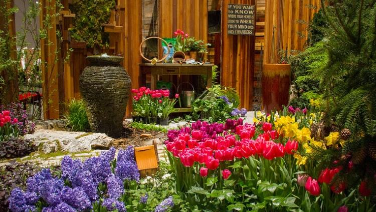 Chicago Flower And Garden Show At Navy Pier Stylechicago Com