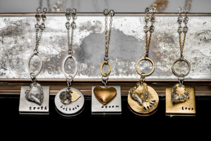 Life Bejeweled - gold necklaces with empowering messages