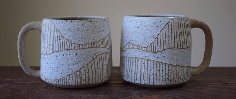 Angela Venarchik Ceramics - Northerner Mugs
