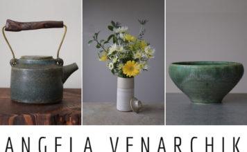 Angela Venarchik Ceramics - 3 Panel