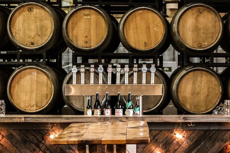 Virtue Cider - Barrels & Taps