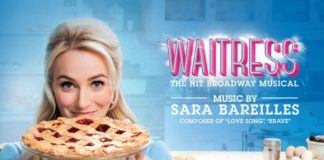 Waitress at the Cadillac Palace Theatre
