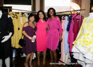 FashionChicago Shopping Party - Candid Photos - May 2018