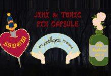 Jini & Tonic - Pin Capsule