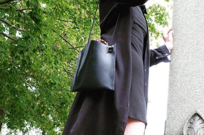 Lee Lee Z Leather - Black Leather Bag