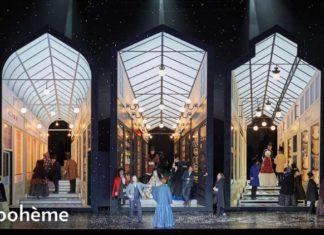 La bohème at the Lyric Opera
